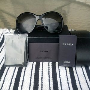 Like New Prada Oversized Glasses Authentic